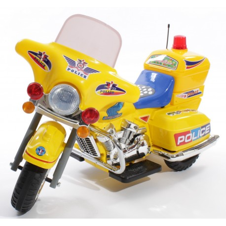 Police Bike N368 Yellow